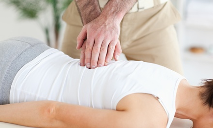 Consultation, Exam, and 1 or 3 Adjustments and Therapy Sessions at Bond Chiropractic (Up to 84% Off)