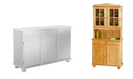 Mobili in legno massello groupon goods for Mobili groupon
