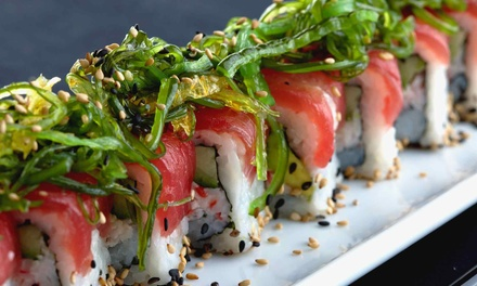 Japanese Dinner for Two or Four at Akari Japanese Restaurant (Up to Half Off)