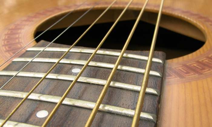 The Way Guitar - Multiple Locations: Two or Four 30- or 60-Minute Guitar Lessons at The Way Guitar (Up to 62% Off)