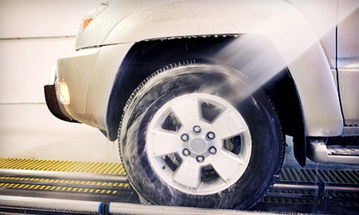 """Wheely Clean Car Wash - Multiple Locations: $21 for Three """"The Works"""" Car Washes at Wheely Clean Car Wash ($47.88 Value)"""