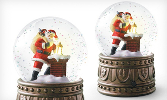 HLC Hallmark - Multiple Locations: One Snow Globe or $8 for $16 Worth of Holiday Gifts and Merchandise at HLC Hallmark