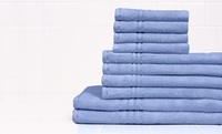 GROUPON: 10-Piece Simply Lush Egyptian Cotton Towel Set 10-Piece Simply Lush Egyptian Cotton Towel Set