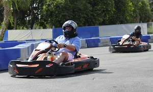 Pro Karting Experience: Go-Kart Races for Children or Adults, or Birthday Party Package at Pro Karting Experience (Up to 38% Off)