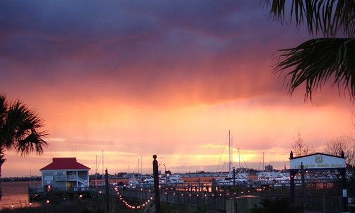 Captains Source - Charleston Harbor Resort & Marina : 90-Minute Semiprivate Christmas-Themed Harbor Tour for Two, Four, or Six from Captains Source (Up to 54% Off)