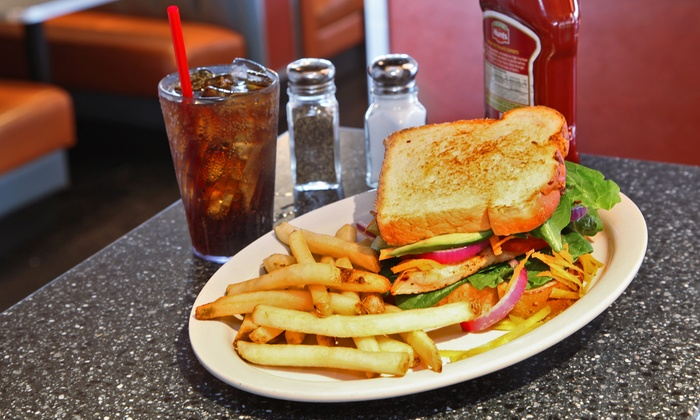 59 Diner - Multiple Locations: $7 for $14 Worth of American Diner Food and Milk Shakes at 59 Diner