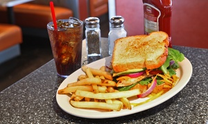 59 Diner: $7 for $14 Worth of American Diner Food and Milk Shakes at 59 Diner