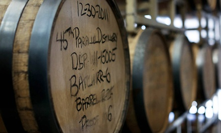 Whiskey Tour and Tasting for Two, Four, or Eight with Glasses at 45th Parallel Distillery (Up to 53% Off)