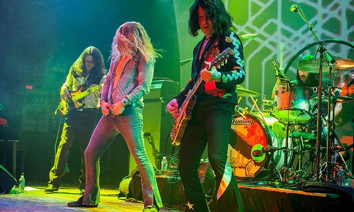 Led Zeppelin 2 or The Molly Ringwalds or Local Brews Local Grooves - House of Blues Sunset Strip: Local Brews, Local Grooves, The Molly Ringwalds, or Led Zeppelin 2 at House of Blues Sunset Strip (Up to 55% Off)
