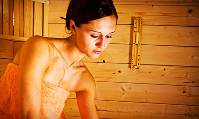 The Raven Spa  - Multiple Locations: 5 or 10 Infrared-Sauna Sessions with Eucalyptus Showers at The Raven Spa (Up to 78% Off)