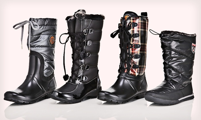 Sporto Women's Winter Boots: Sporto Women's Winter Boots (Up to 55% Off). Multiple Styles and Sizes Available. Free Shipping and Free Returns.