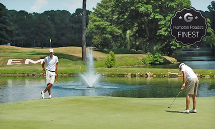Elizabeth Manor Golf & Country Club - Portsmouth: Golf for Two or Four with Cart Rental and Voucher for Grill Food at Elizabeth Manor Golf & Country Club (Up to 51% Off)