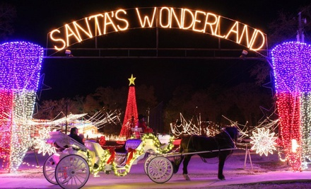 Santa's Wonderland with Hayride for Two or Four (Up to 37% Off)