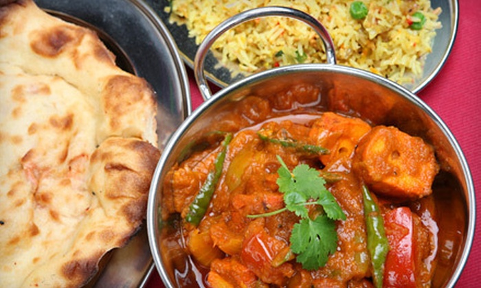 Tadka Indian Restaurant - Dublin: Indian Food for Two, Four, or Six at Tadka Indian Restaurant (Half Off)