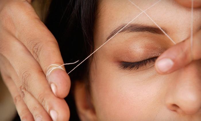 Lily's nail spa & hair salon - Ala Moana - Kakaako: Eyebrow Threading with Option for Upper-Lip Threading at Lily's nail spa & hair salon (Up to 52% Off)