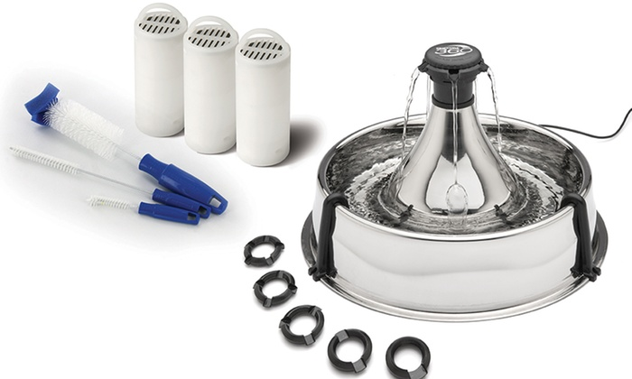 drinkwell platinum pet fountain filter instructions