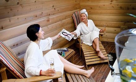 All-Day Russian Banya Visit with Optional Pedicure at Red Square (Up to 53% Off)