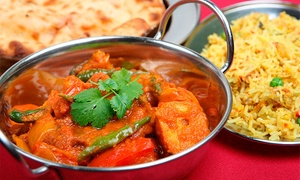 New India Restaurant: Three-Course Indian for Two ($29), Four ($55) or Six People ($75) at New India Restaurant, CBD (Up to $184 Value)