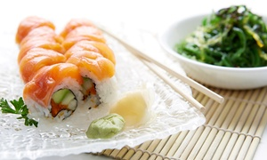 $17.50 For $30 Worth Of Sushi And Japanese Food For Dinner At Akio Sushi & Teriyaki Tea House