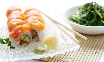 Sushi and Japanese Supper Cuisine for Two, Four, or Take-Out at Hanabi Sushi Restaurant (Up to 50% Off)