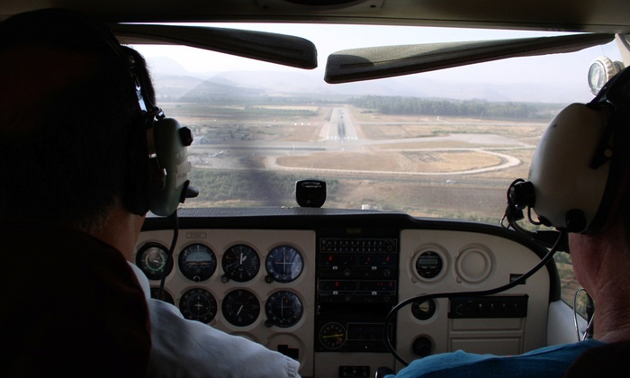 Premier Flight Academy - Multiple Locations: $125 for Flight Lesson with Ground Training & 40-Minute Flight at Premier Flight Academy ($250 Value)
