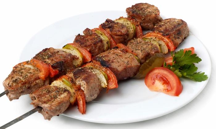 Mediterranean food ali baba restaurant groupon for Ali baba s middle eastern cuisine