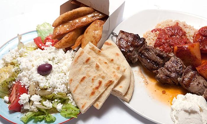 Souvlaki Hut - Grimsby: Mediterranean Cuisine at Souvlaki Hut (50% Off)