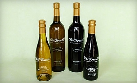 $11.99 for $20 Worth of Extra-Virgin Olive Oils and Balsamic Vinegars at The Olive Branch