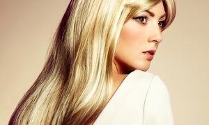 Lavish Beauty Salon: Haircut, Conditioning, and Style with Optional Color or Partial Highlights at Lavish Beauty Salon (Up to 49% Off)