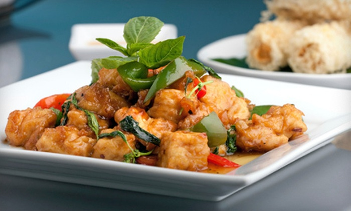 Thai Jasmine  - Bedford: Thai Cuisine at Thai Jasmine in Bedford (Half Off)