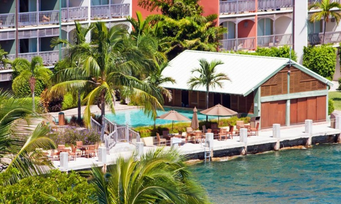 Bahamas Beach Trip with Airfare from Vacation Express - Freeport: ✈ 4-Night Pelican Bay Hotel Vacation with Airfare from Vacation Express. Price/Person Based on Double Occupancy.