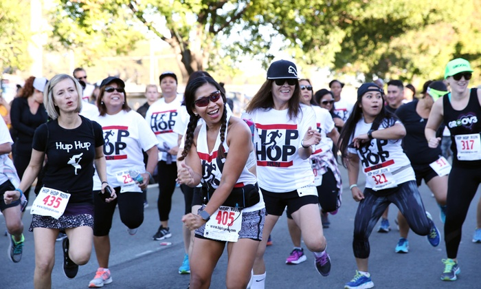 Hip Hop Run and Music Festival - Balboa Stadium: 5K or 10K Entry for One or Two to Hip Hop Run Music Festival (Up to 27% Off)