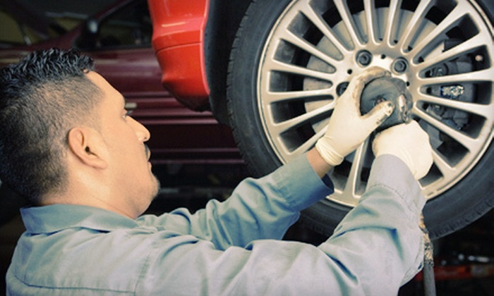 Mountain View Tire Factory - Downtown Fort Collins: $30 for $100 Worth of Tires, Installation, and Auto Maintenance Services at Mountain View Tire Factory in Fort Collins