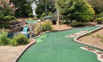 Unlimited <strong>Mini <strong>Golf</strong></strong> for Two or Four at Broad Run <strong>Golf</strong> (Up to 77% Off)