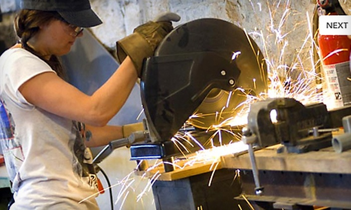 Vesper College - Minneapolis: Metal-Manipulating Art Class at Vesper College (Up to 80% Off). Four Options Available.