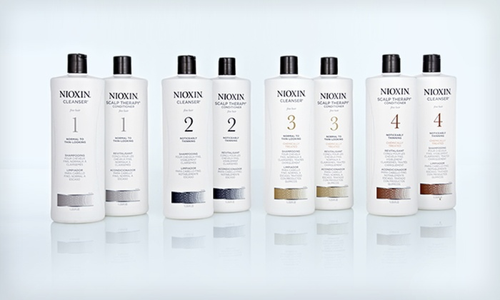 Nioxin Cleanser and Scalp Therapy Duo: $45.99 for Nioxin Hair-Thickening System (Up to $91.18 List Price). Multiple Systems Available. Free Shipping.