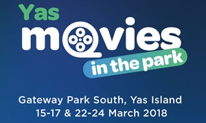Movies in the Park: Movies in the Park - VIP Experience for Up to Four, 15 - 24 March, South Gateway Park (Up to 37% Off)