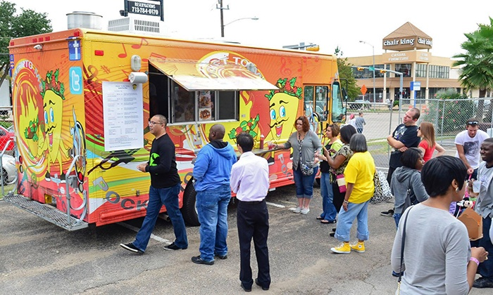 Houston Food Truck Festival - Stereo Live: Houston Food Truck Fest at Stereo Live on Saturday, May 2 (Up to 33% Off)