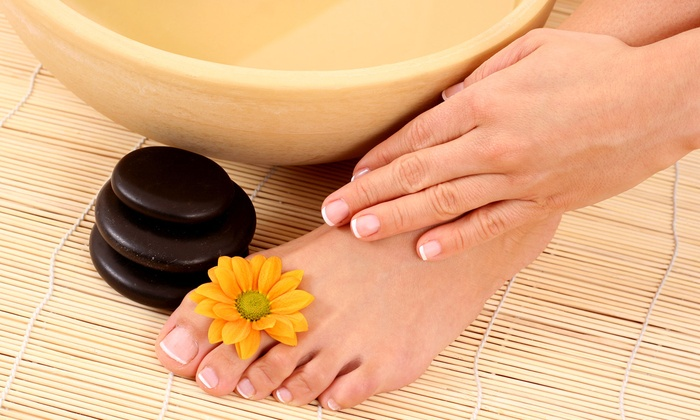 Ema's Beauty Salon - Olympia Heights: $20 for Deluxe Manicure and Pedicure at Ema's Beauty Salon ($40 Value)