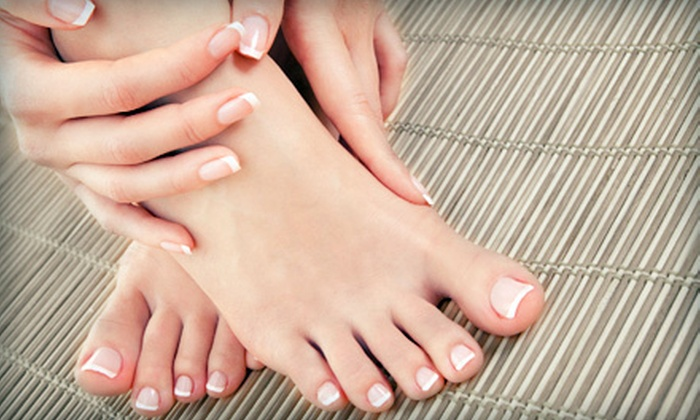 Artistry Nail Spa - North Central Omaha: $21 for a Spa Pedicure and Deluxe Manicure at Artistry Nail Spa ($42 Value)