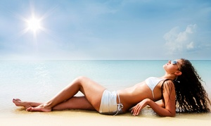 Urban Sun Tan: One or Three Custom AIrbrush Tans or FIT Body Wraps at Urban Sun Tan (Up to 65% Off)