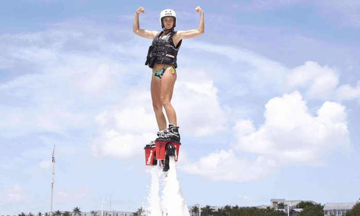 Barefoot Billy's - Casa Marina Resort: 30-Minute Flyboard Experience with Optional 120-Minute Kayak Rental from Barefoot Billy's (50% Off)