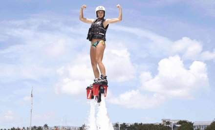 30-Minute Flyboard Experience with Optional 120-Minute Kayak Rental from Barefoot Billy's (50% Off)