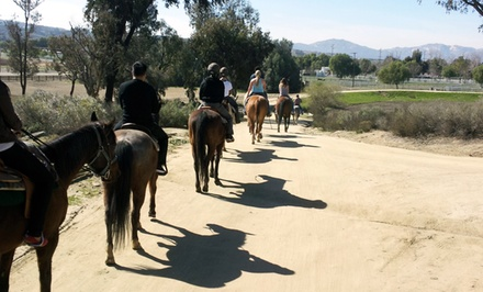 Ranch Rides for Two with Optional Wine-Tasting Vouchers for Local Wineries at Green Acres Ranch (50% Off)