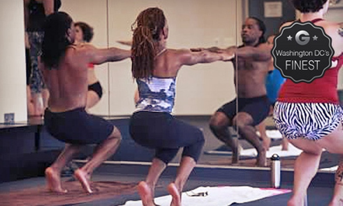 Bikram Yoga Bethesda - Bethesda: 10 Weekday Morning Classes, 10 Anytime Classes, or a Private Class for Up to 25 at Bikram Yoga Bethesda (Up to 78% Off)