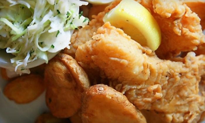 Hannah Flanagan's - Hendersonville: Irish Pub Food at Hannah Flanagan's (Half Off). Two Options Available.