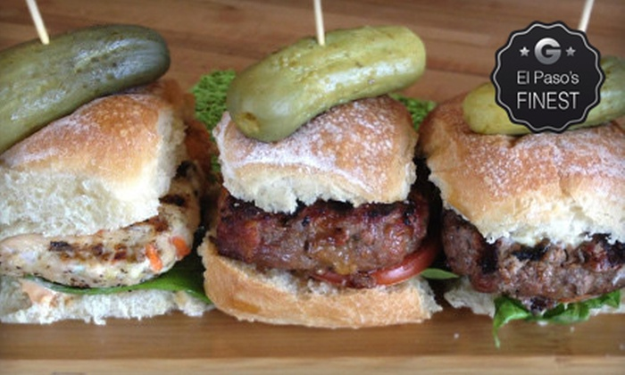 Square Cow Burgers, Beer & Wine - Mission Hills South: Craft Burgers for Lunch or Dinner at Square Cow Burgers, Beer & Wine (Half Off)