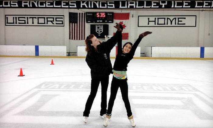 Los Angeles Kings Valley Ice Center - Panorama City: Ice Skating for Two or Four, or 10-Week Skating School at Los Angeles Kings Valley Ice Center (Up to Half Off)