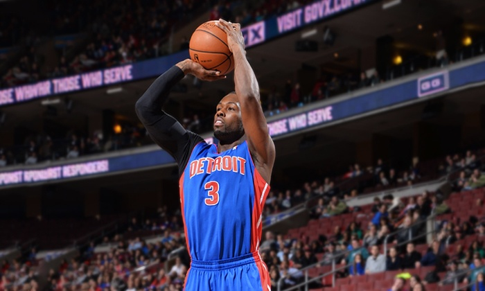 Detroit Pistons - The Palace of Auburn Hills: Detroit Pistons NBA Game with Postgame Shot on February 21 or March 5 at The Palace of Auburn Hills (Up to 44% Off)