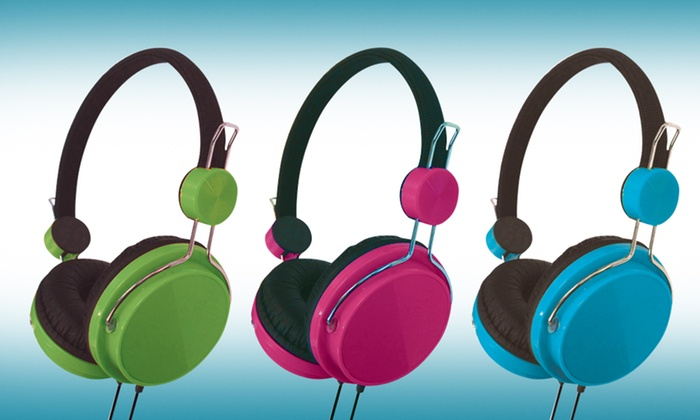 Vibe Sound X45 Stereo Headphones: Vibe Sound X45 Stereo Headphones. Multiple Colors Available.